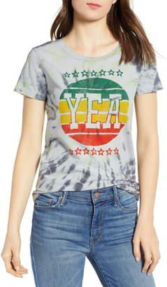 Pam & Gela Yea Tie Dye Graphic Tee