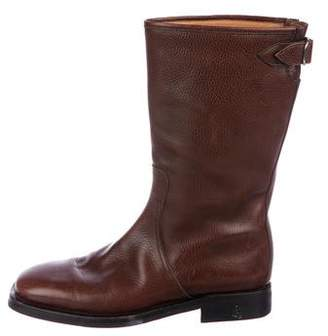 Hermes Leather Tall Boots