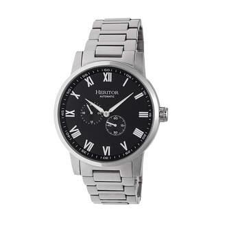 Heritor Unisex Silver Tone Bracelet Watch-Herhr6402