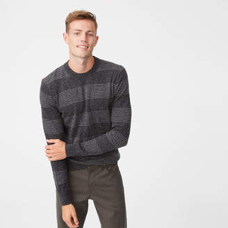 Club Monaco Stripe Crew Sweater