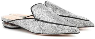 Nicholas Kirkwood Beya metallic mules