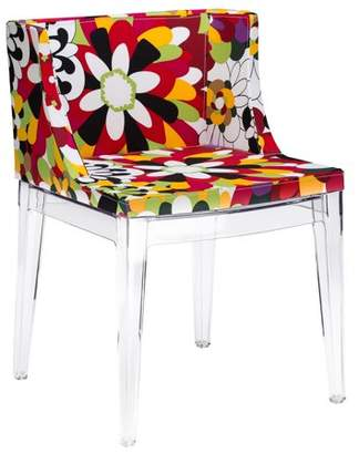 Poly and Bark Flower Dining Side Chair
