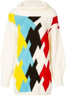 DELPOZO roll neck jumper