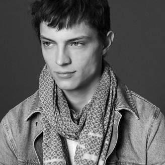 Sandro Woven jacquard scarf
