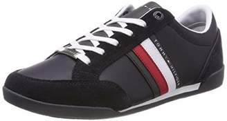 b14a46ea6 Tommy Hilfiger Men s Corporate Material Mix Cupsole Low-Top Sneakers