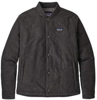Patagonia Men's Recycled Wool Bomber Jacket