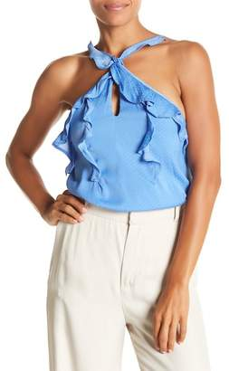 Do & Be Do + Be Ruffle Halter Tank Top