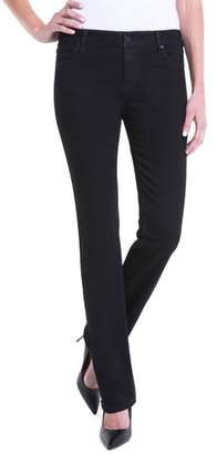 Liverpool Sadie Mid Rise Stretch Straight Jeans