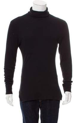Kris Van Assche Rib Knit Turtleneck Sweater