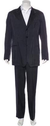 Giorgio Armani Satin Striped Suit