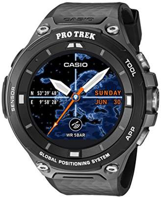 Casio Men's 'PRO TREK' Quartz Resin Outdoor Smartwatch