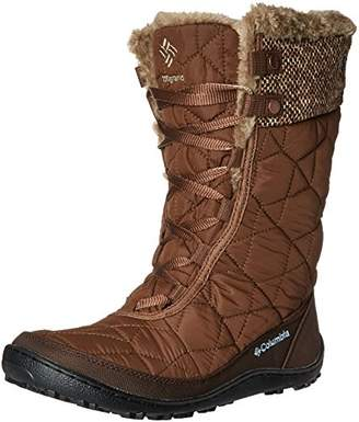 Columbia Women's Minx Mid II Omni-Heat Woven Snow Boot $120 thestylecure.com