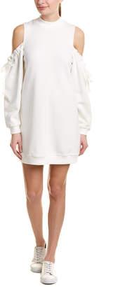 Kensie Cold-Shoulder Sweaterdress