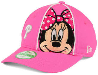New Era Girls  Philadelphia Phillies Face-Front Minnie 9FORTY Cap a74ceebc3ba