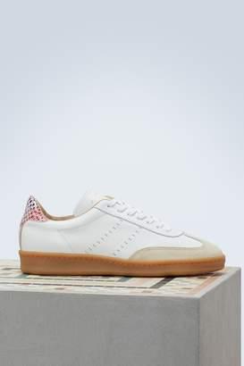 Zespà Nappa dots bi-material sneakers