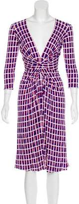 Issa Printed Long Sleeve Dress