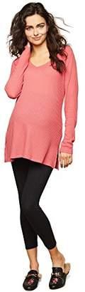 Motherhood Maternity Women's Maternity Crop Length Secret Fit Belly Leggings