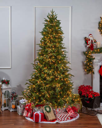 clear Sterling Tree Company 7.5Ft. Pre-Lit Natural Cut Frasier Fir W/ 700 Lights
