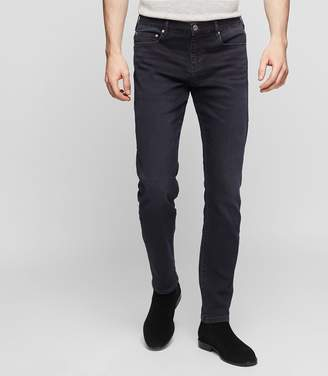 Reiss ANDREW Slim-fit tapered jeans Washed Black