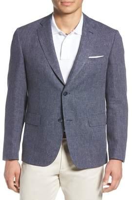 John W. Nordstrom R) Traditional Fit Melange Wool & Linen Sport Coat