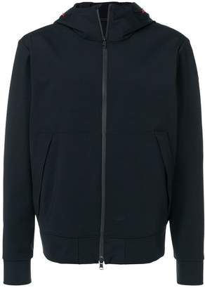 Moncler hooded zip-up jacket