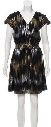 Loeffler Randall Silk Mini Dress w/ Tags