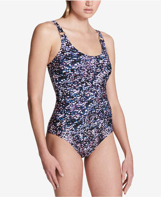 Calvin Klein Starry Night One-Piece Swimsuit, Created for Macy's Women's Swimsuit