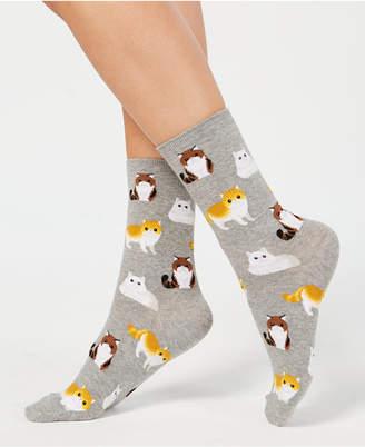Hot Sox Persian Cat Socks