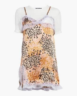 Pamplemousse Mimosa Cheetah Dress