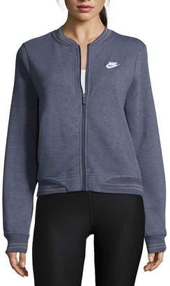 Nike Midweight Fleece Bomber Jacket