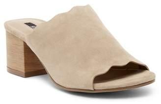 Kensie Hajari Block Heel Suede Sandal