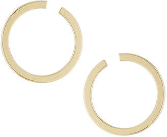 Lydell NYC Front-Facing Hoop Earrings