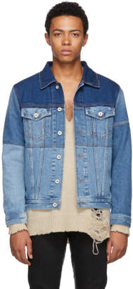 Diesel Blue Nhill-T Denim Jacket