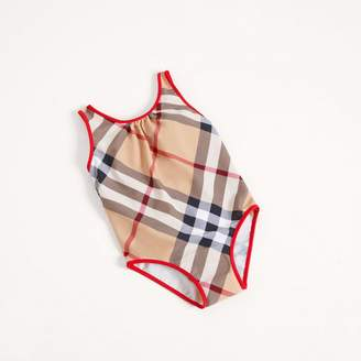 Burberry One-piece Check Swimsuit