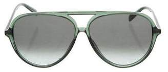 Celine Reflective Aviator Sunglasses