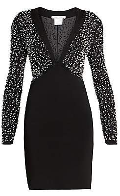 Givenchy Women's Beaded Strass Embroidered Dress