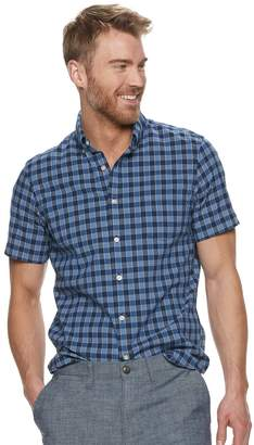 2da5bbcfc1 Sonoma Goods For Life Men's SONOMA Goods for Life Modern-Fit Poplin  Button-Down