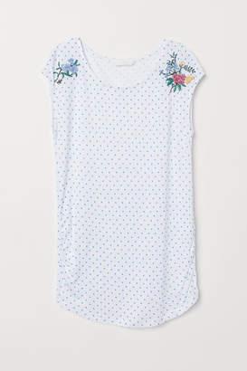 H&M MAMA Jersey Top - White