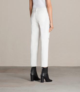 AllSaints Muse Slim Destroy Jeans