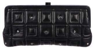 Lambertson Truex Quilted Leather Clutch