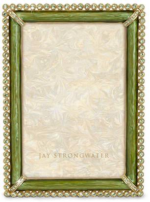 Jay Strongwater Lorraine Stone-Edge Picture Frame
