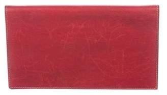 Hermes Box Checkbook Cover