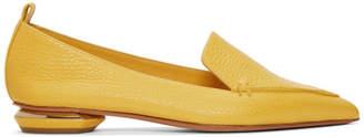 Nicholas Kirkwood Yellow Beya Loafers