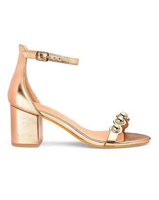 d0ec8884a910 Bucketfeet Arden Block Heel Sandals Wide Fit