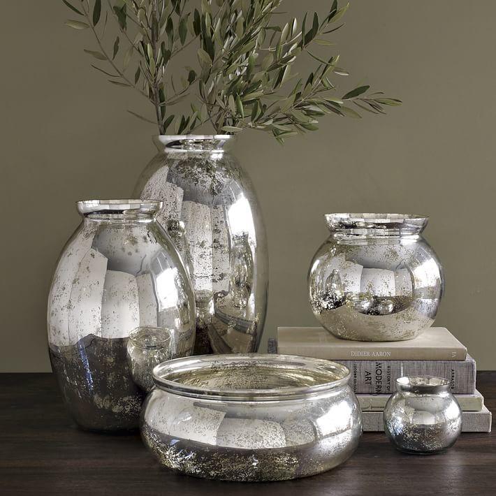 Rochester Mercury-Glass Vases
