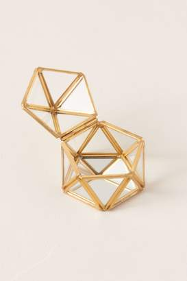 Isaac Jacobs Glass Geodome Ring Box