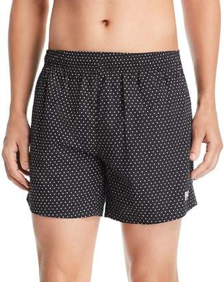 BOSS Pike Polka Dot-Print Swim Shorts