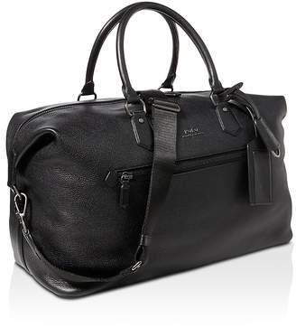 Polo Ralph Lauren Pebbled-Leather Duffel Bag