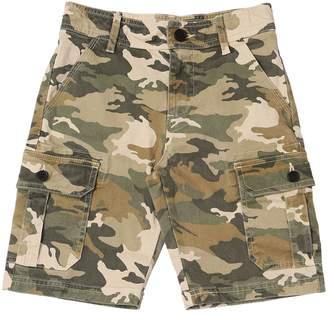Zadig & Voltaire Stretch Cotton Denim Cargo Shorts