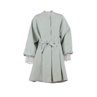 Adelina RUSU - Blue Linen Kimono Coat